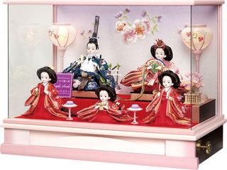 プリンセス雛人形5人飾り.jpg